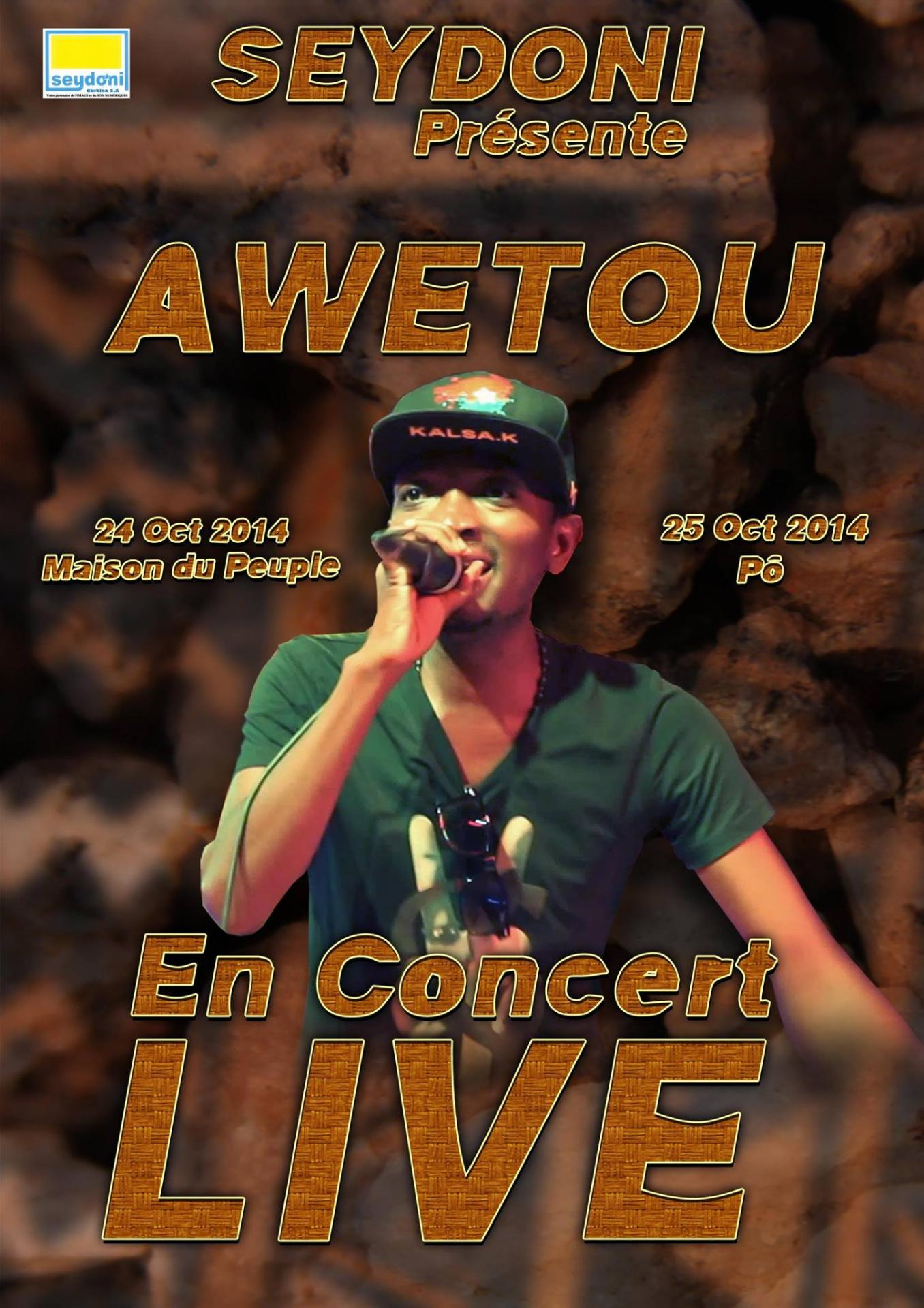 Awetou concert ouagapo